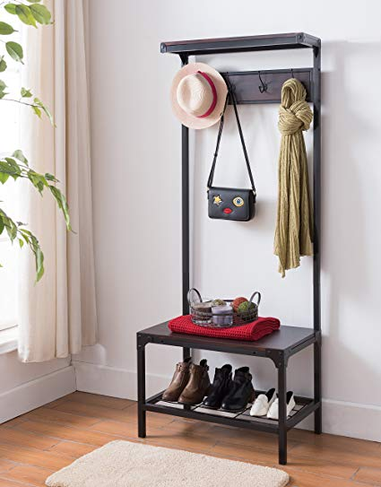 Entryway shelf baby proofing keep your purse out of reach