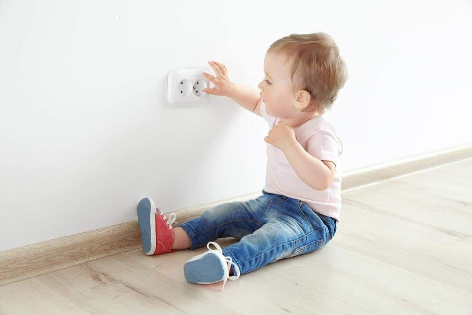 how to get your house in order for a new baby - babyproofing your home