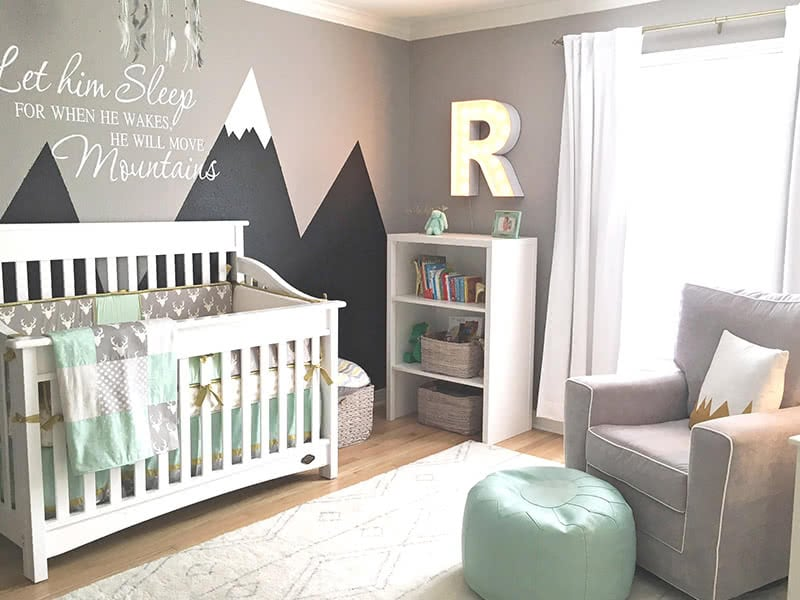 how to get your house in order for baby - the nursery