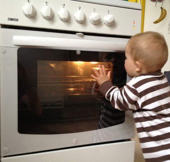 baby proof oven lock