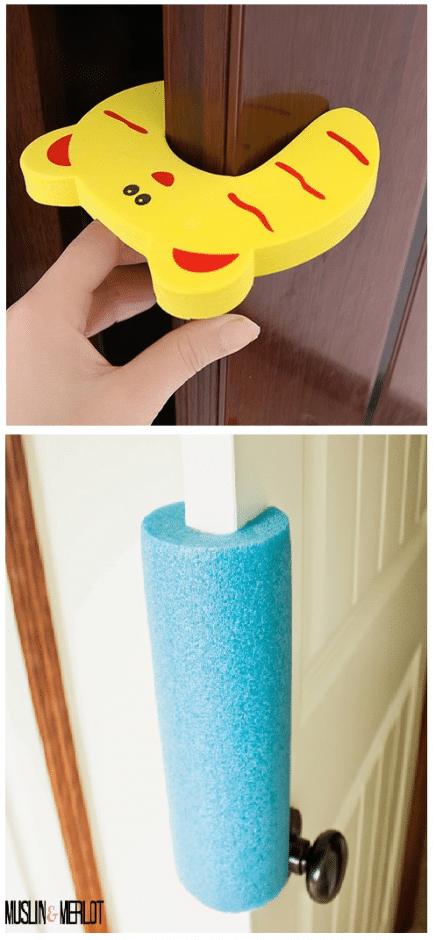 baby proofing door stopper guards