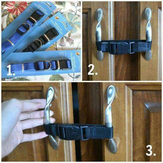 diy cabinet locks baby proof