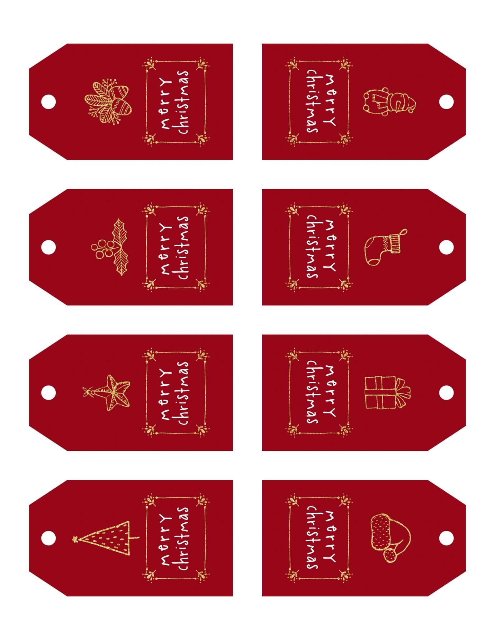 Free printable christmas tagsv