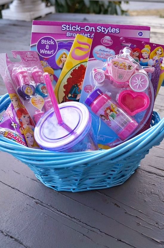 christmas gift baskets for little girls