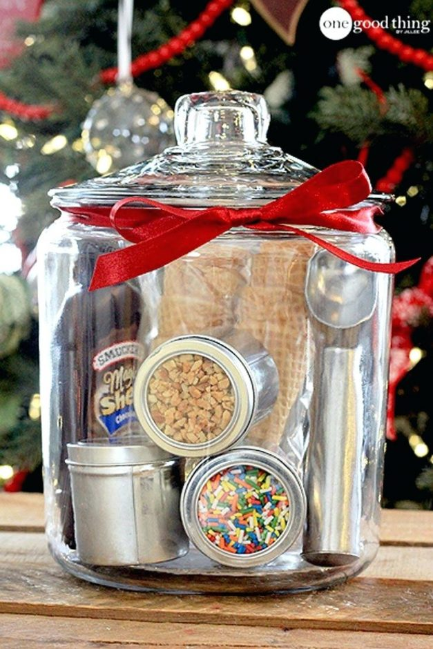 gifts in a jar christmas gift baskets for family
