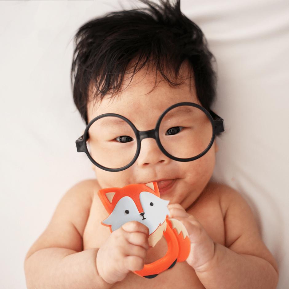 fox baby teether