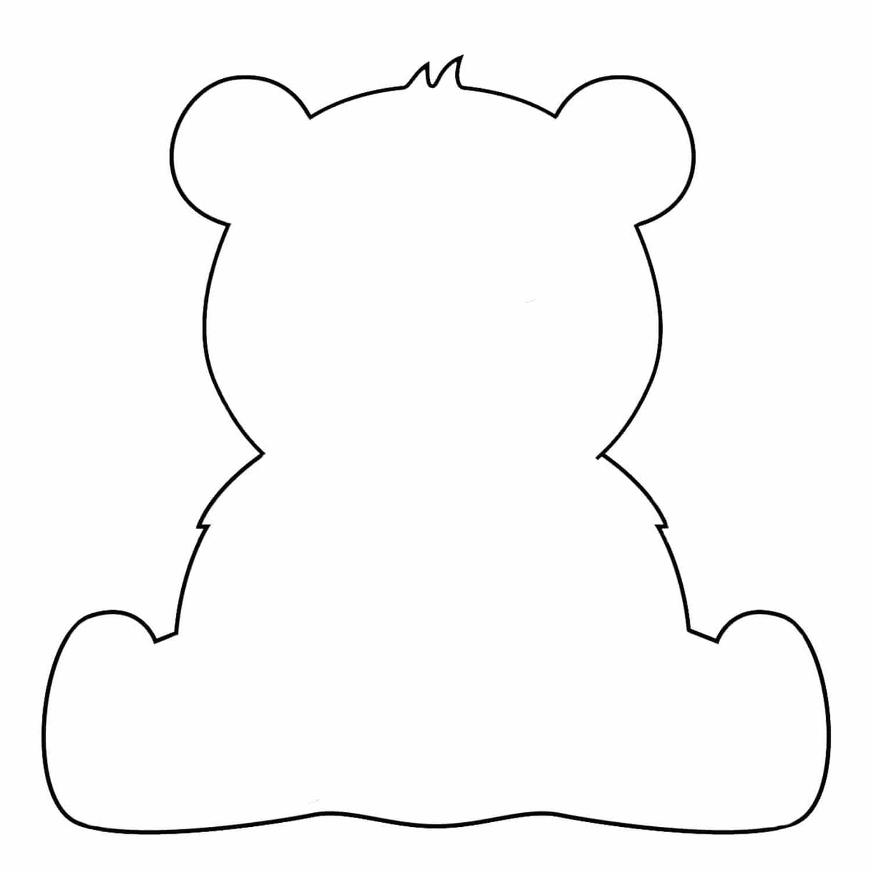 animal cutouts bear