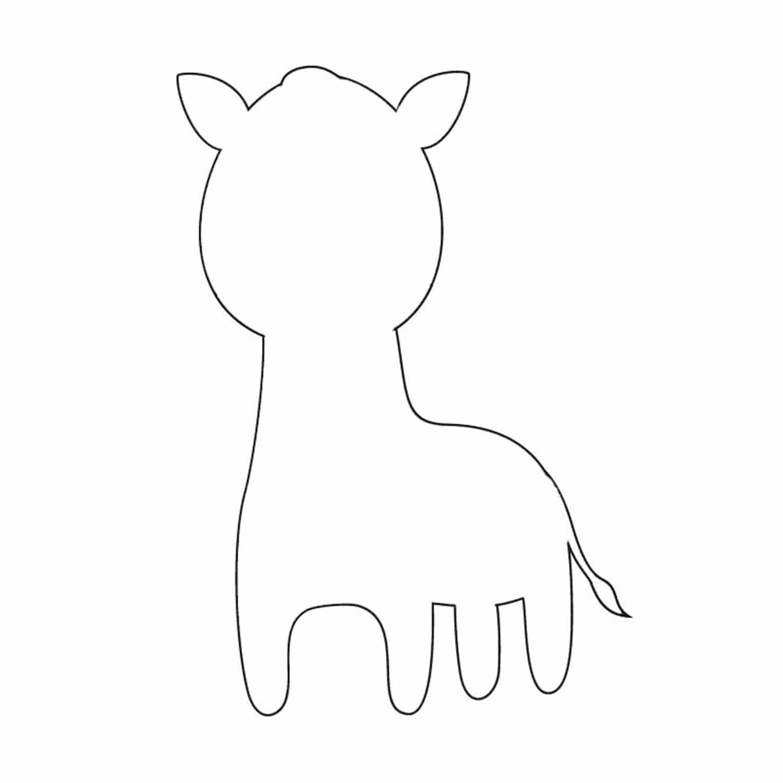 animal cutouts llama