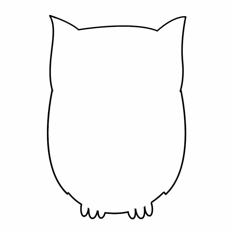Animal cutouts owl