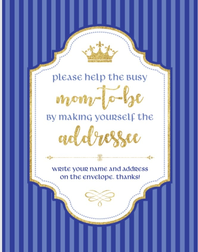 please-help-a-busy-mom-to-be-by-making-yourself-the-addressee-free-printable-prince-theme-navy-blue-royal