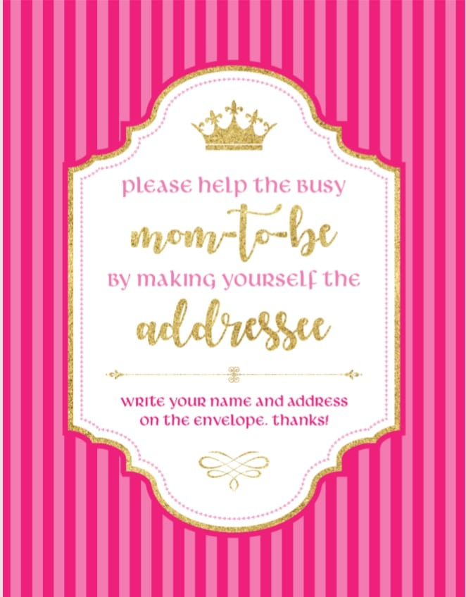 please-help-a-busy-mom-to-be-by-making-yourself-the-addressee-free-printable-princess-theme-hot-pink
