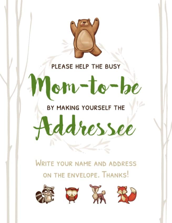 please-help-a-busy-mom-to-be-by-making-yourself-the-addressee-free-printable-woodland