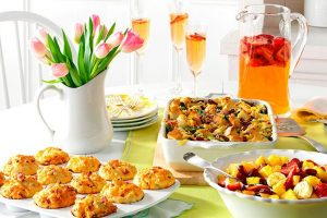 baby shower brunch tips, ideas and recipes