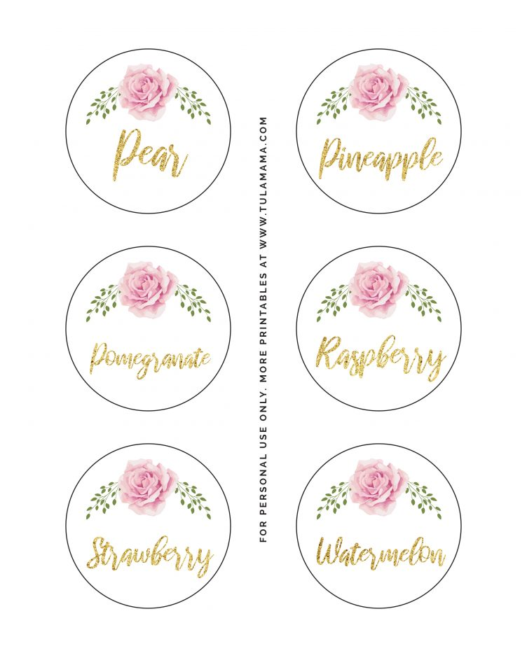 free mimosa bar sign printable