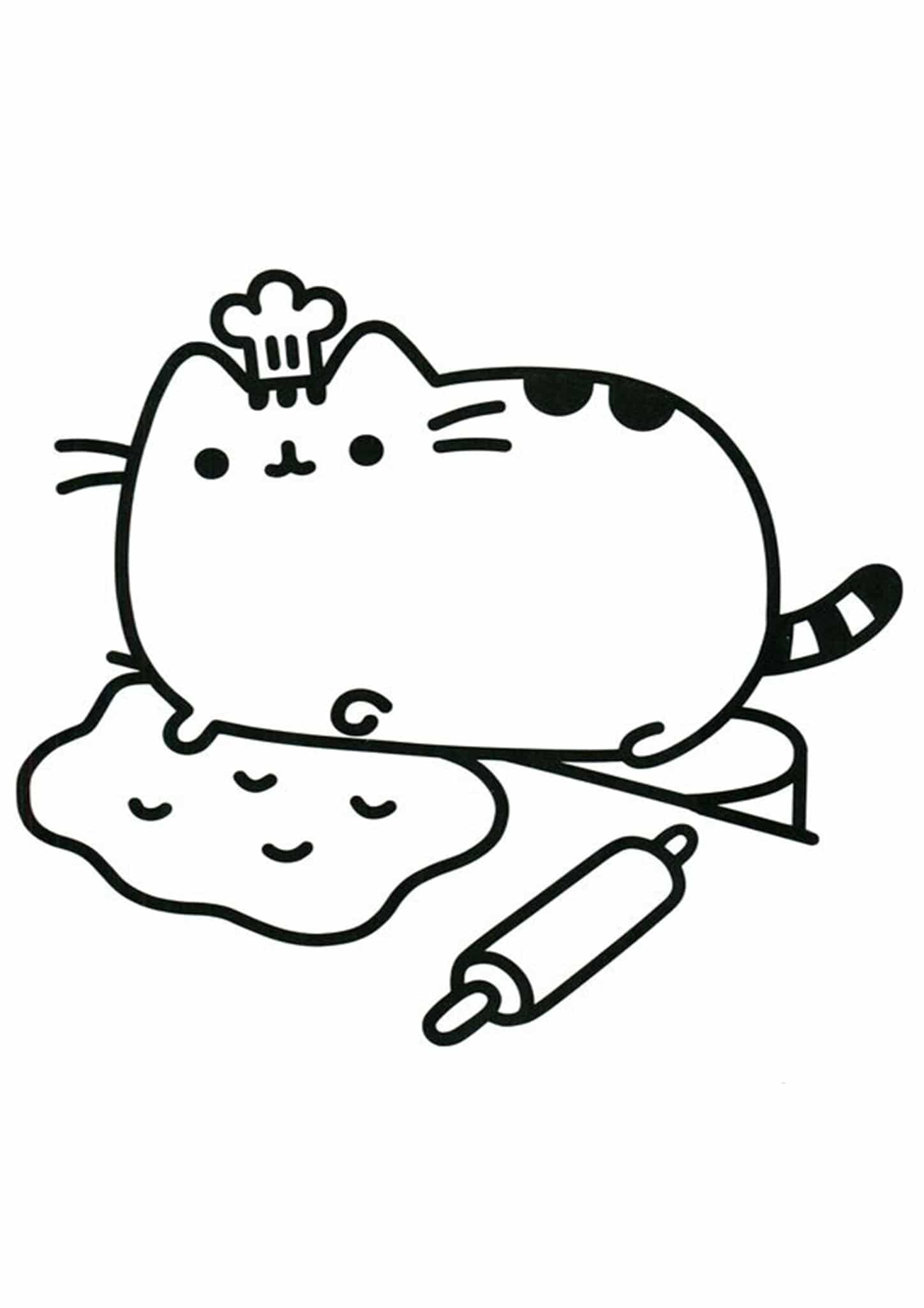 - Free & Easy To Print Pusheen Coloring Pages - Tulamama