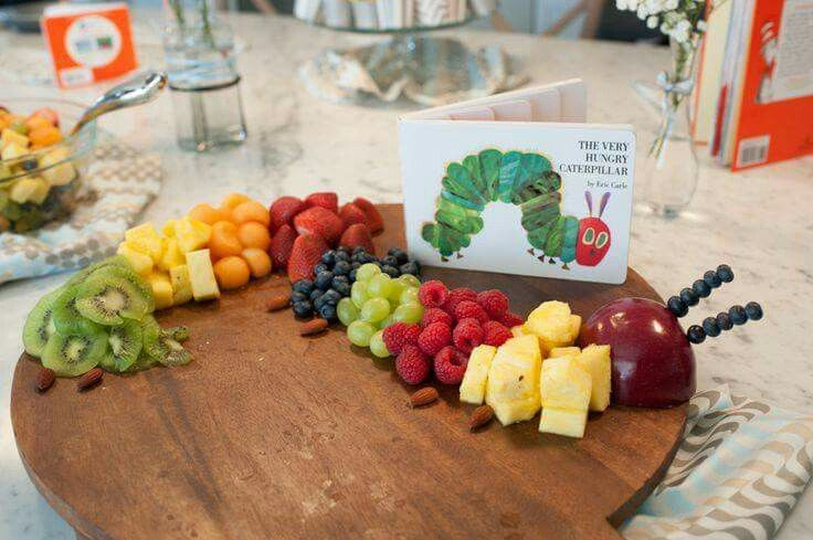 a very hungry caterpillar fruit platter