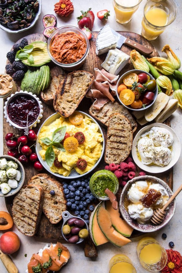 baby shower brunch charcuterie board
