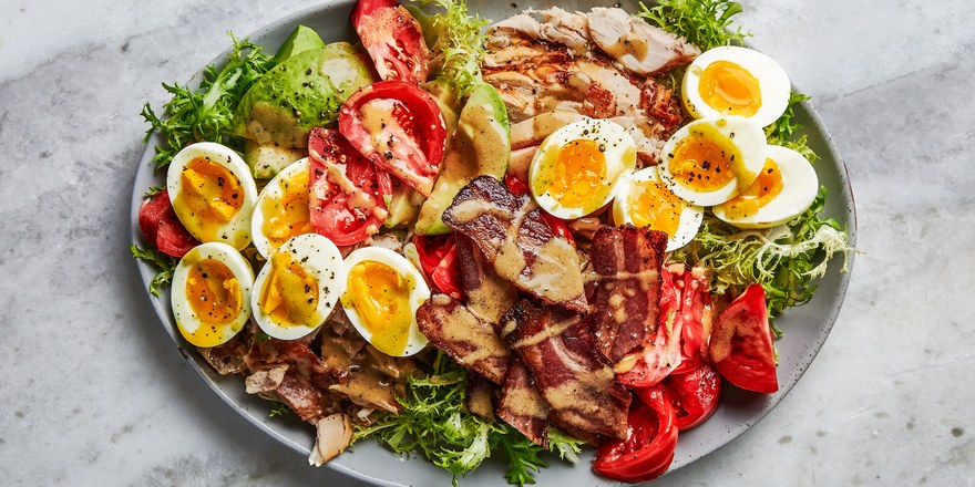 chicken cobb salad for baby shower brunch menu