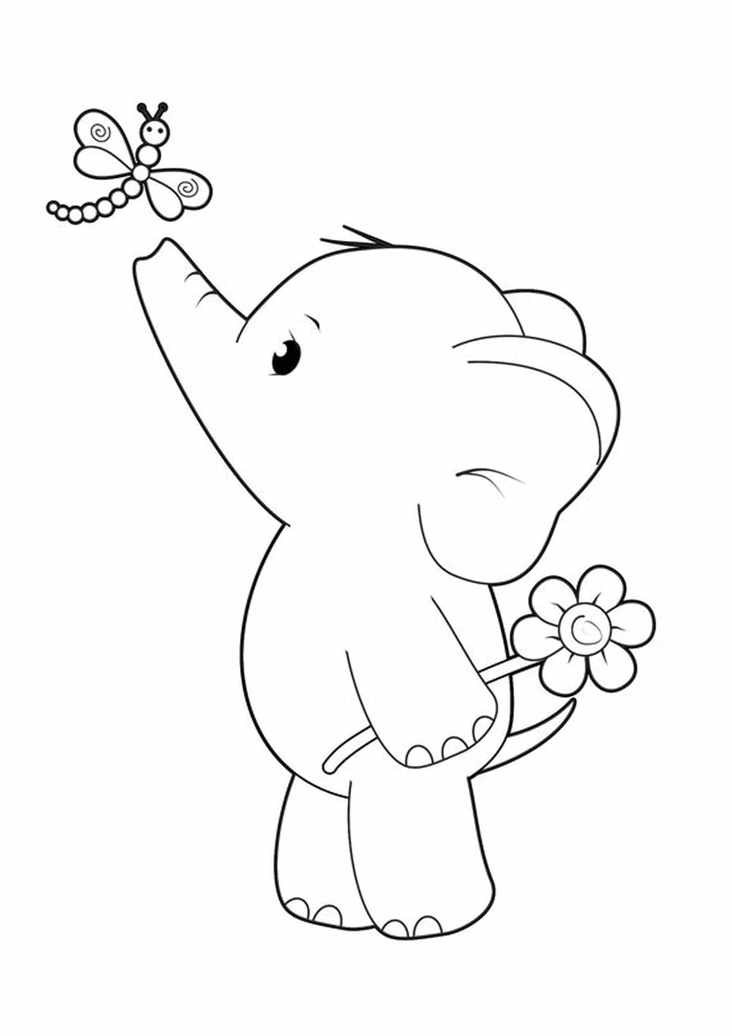- Free & Easy To Print Elephant Coloring Pages - Tulamama