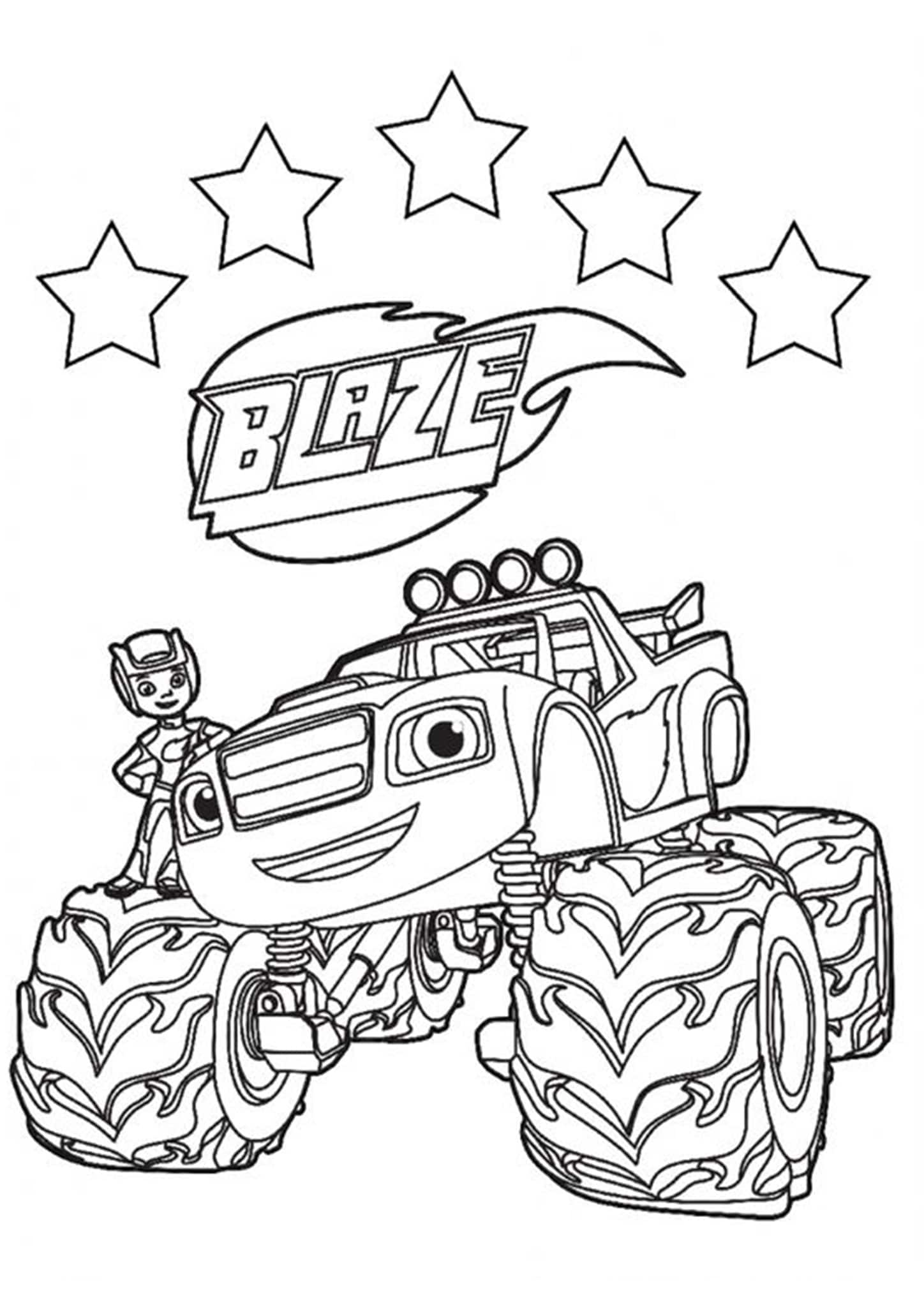 Free Printable Monster Jam Coloring Pages Monster Mutt | Monster ... | 2048x1448