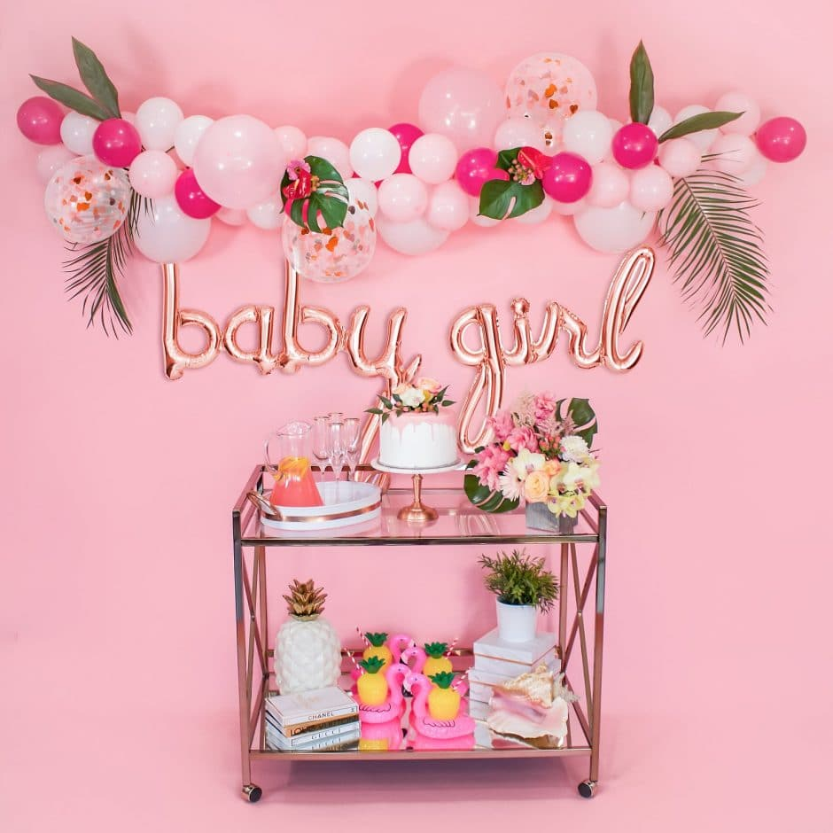 cheap virtual baby shower decorations