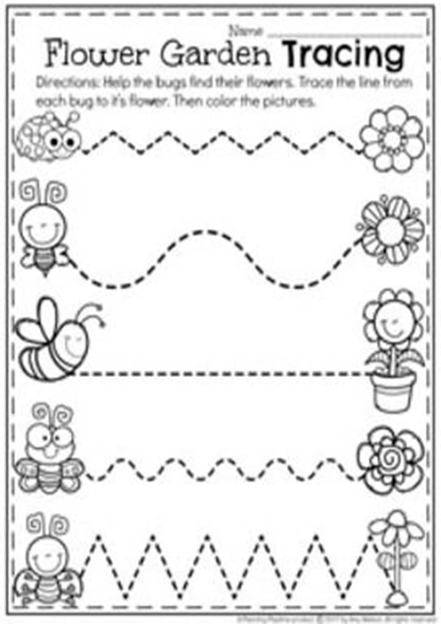 Free Traceable Worksheets Kindergarten
