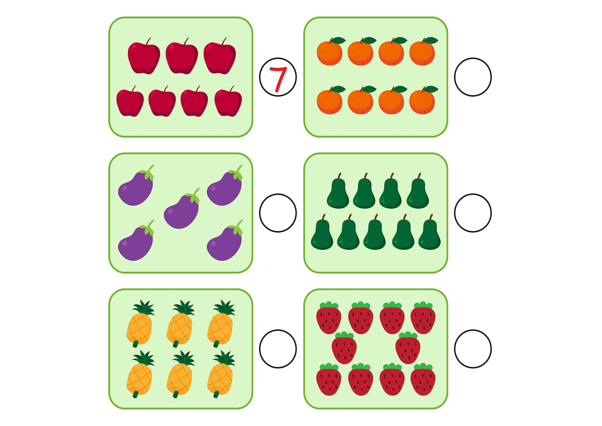 Free And Easy To Print Counting To 20 Worksheets - Tulamama