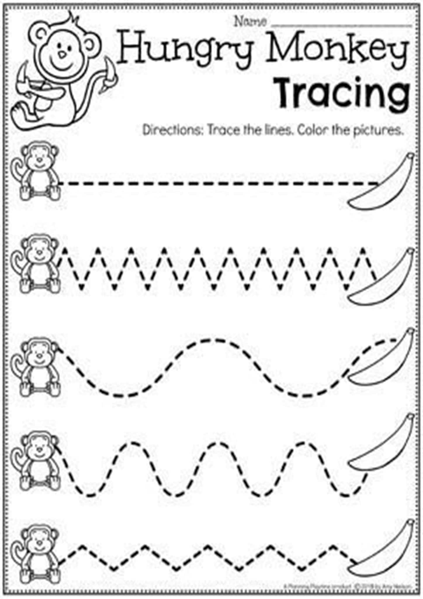 Free And Easy To Print Tracing Lines Worksheets - Tulamama