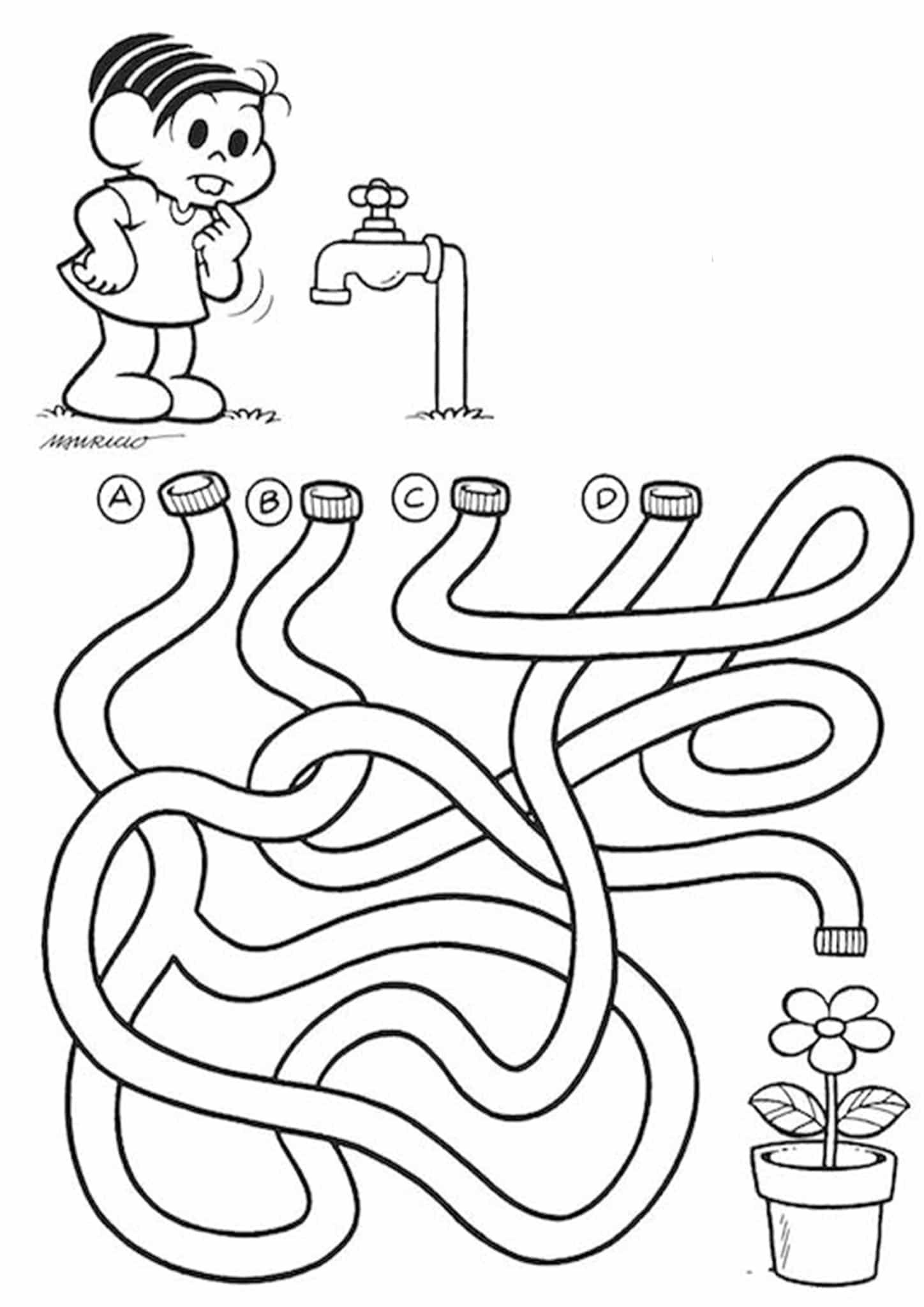 Free Simple Maze Printables For Preschoolers And Kindergartners Tulamama - Get Maze Worksheets For Kindergarten Pictures