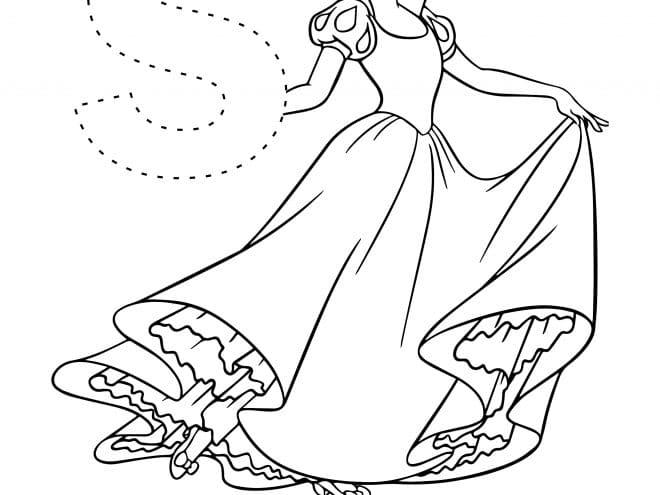 Disney Letter tracing worksheets