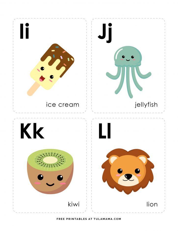 Free Printable Alphabet Flash Cards for toddlers, preschool and kindergarten.These DIY printable flashcards make learning fun. Uppercase and lowercase homemade letter flashcards that are easy to print and use. #homeschool #freeprintables