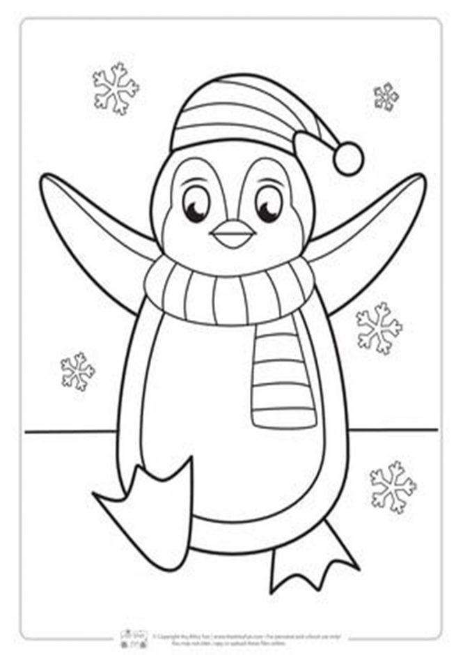 Free Easy To Print Penguin Coloring Pages Tulamama