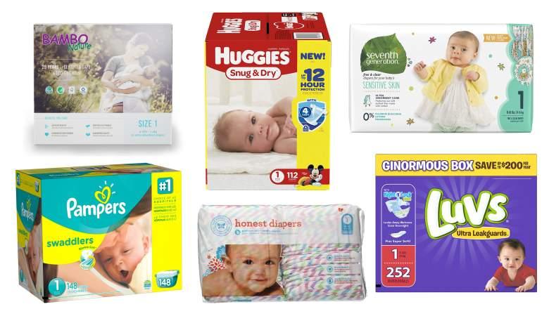 diaper brands