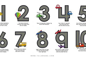 number formation rhymes 1-10