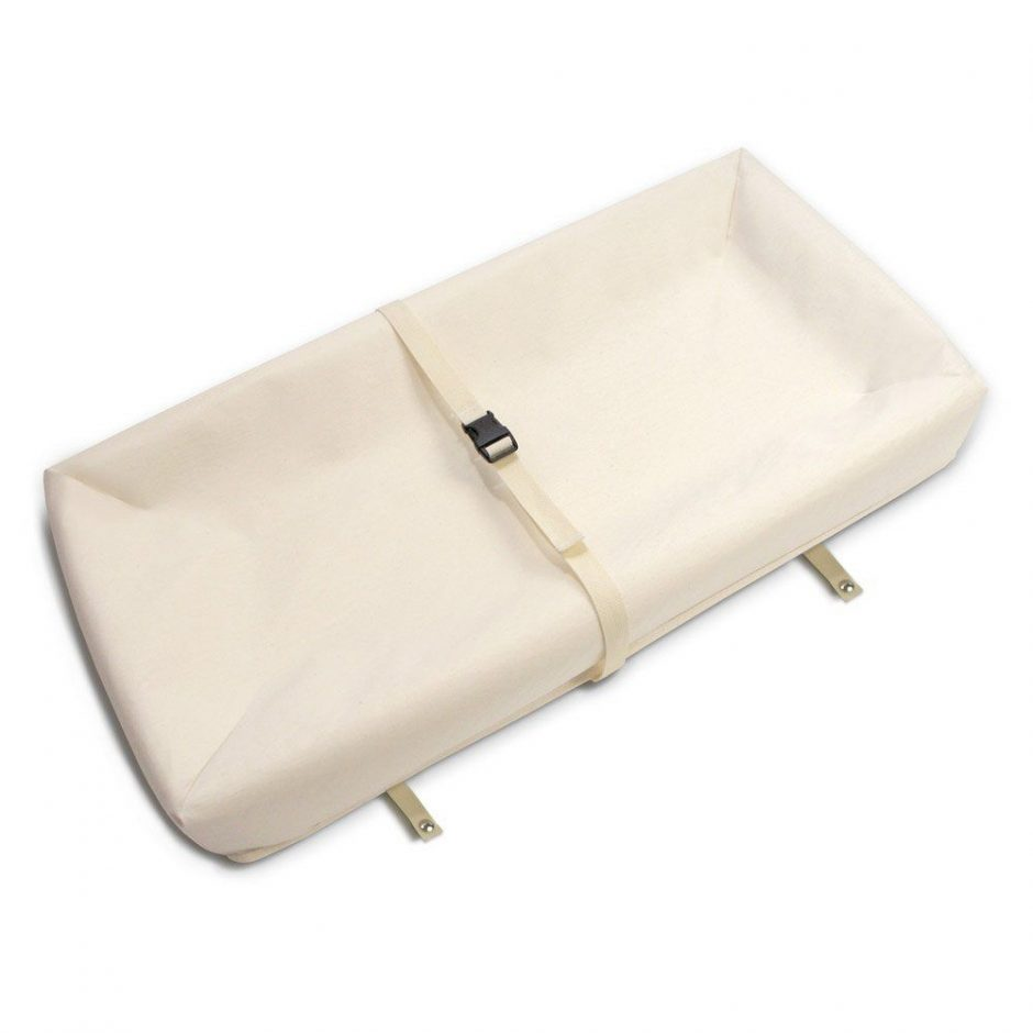 baby changng pad with safety straps