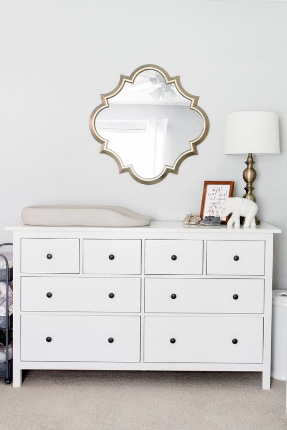 beautiful changing table dresser ideas