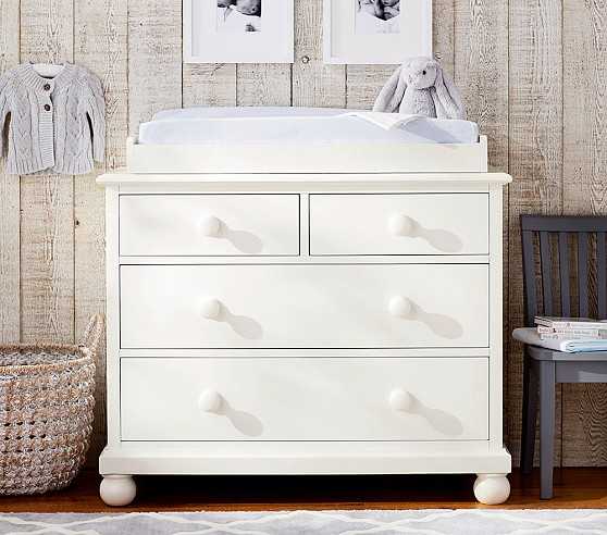 best changing table organization