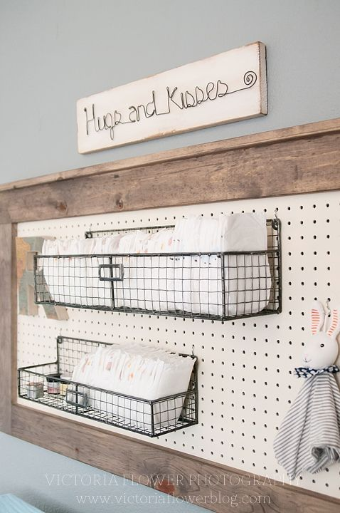 changing table organization on the wall