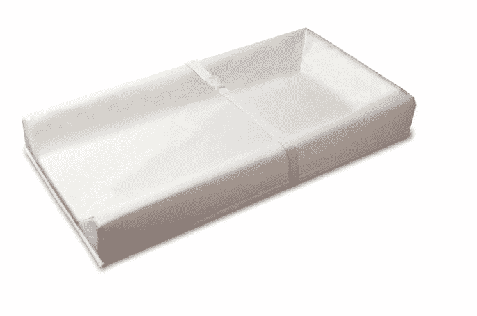 contoured baby changing pad