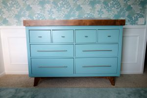 how to convert a dresser to a changing table with drawers diy