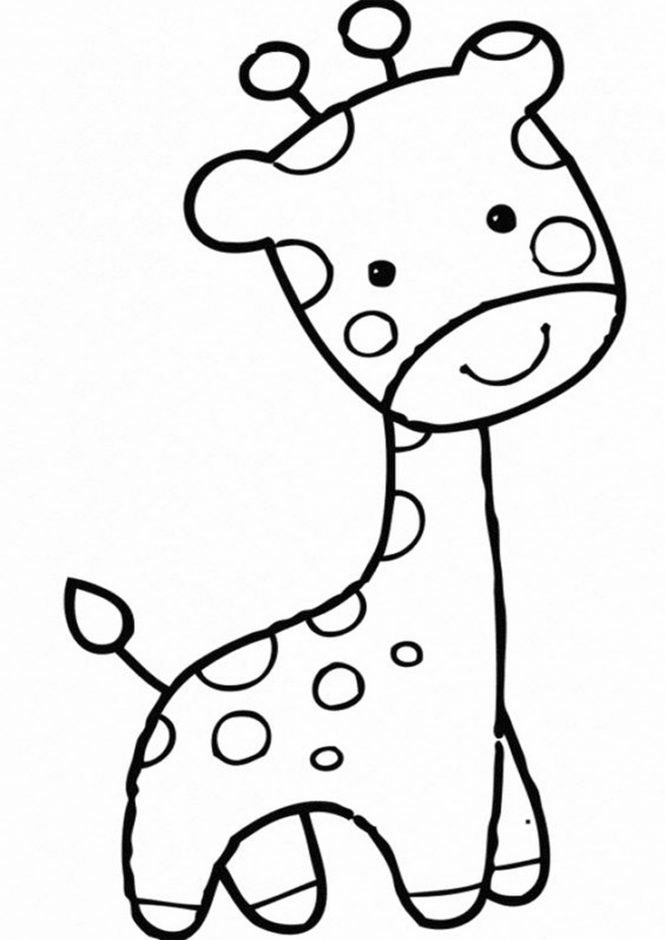 Free & Easy To Print Baby Animal Coloring Pages - Tulamama