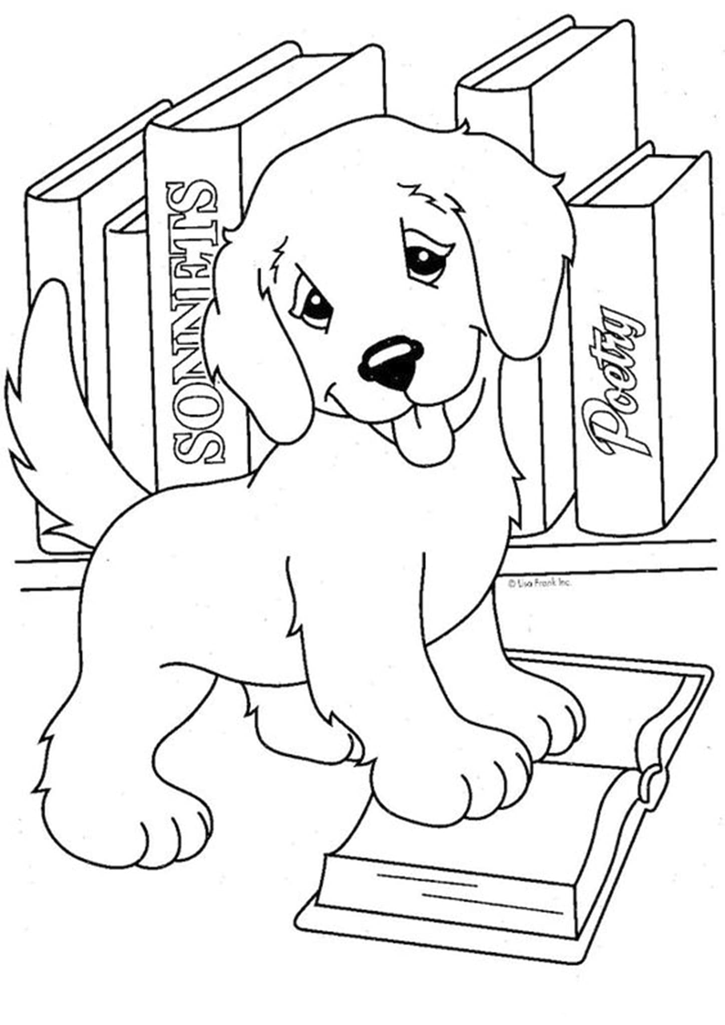 Free & Easy To Print Baby Animal Coloring Pages - cover