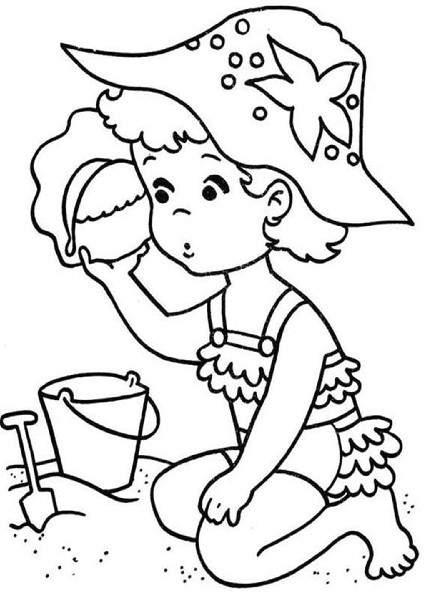 Free & Easy To Print Summer Coloring Pages - Tulamama