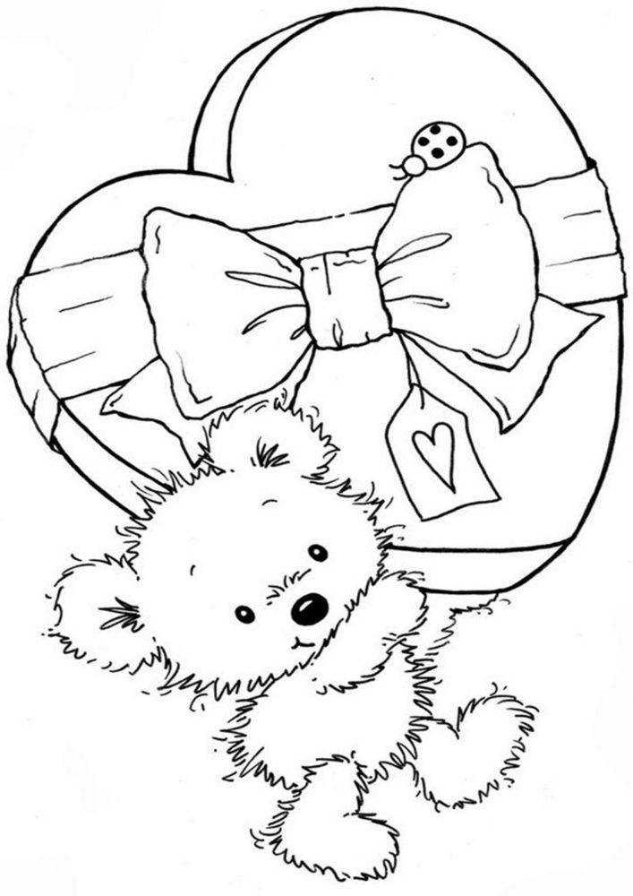 Free & Easy To Print Bear Coloring Pages - Tulamama