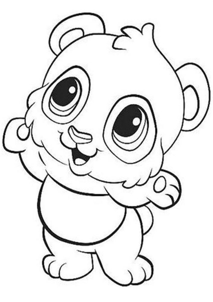 Free & Easy To Print Panda Coloring Pages - Tulamama