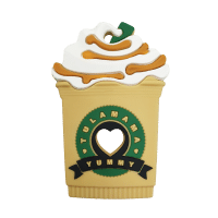 Starbucks frappe chocolate milkshake silicone best baby teether