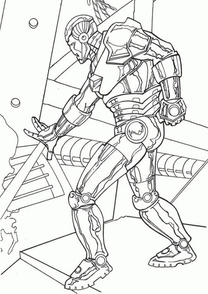 Free & Easy To Print Iron man Coloring Pages - Tulamama