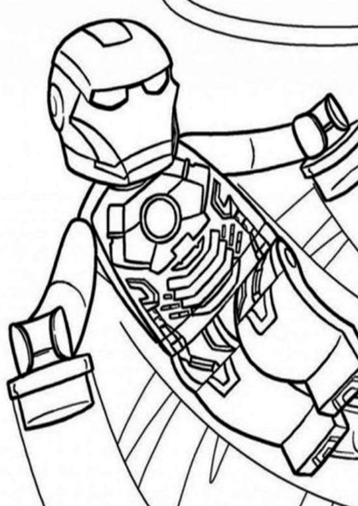 Fun Iron Man coloring pages for your little one. They are free and easy to print. The collection is varied with different skill levels