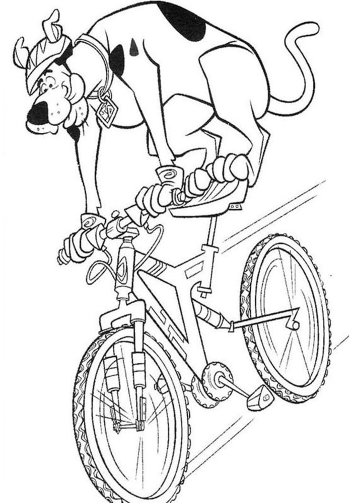 Fun Scooby Doo coloring pages for your little one. They are free and easy to print. The collection is varied with different skill levels