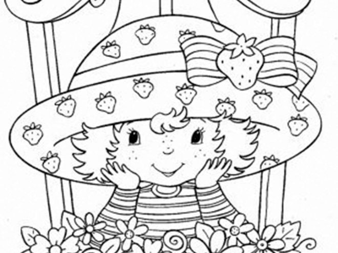 - Free & Easy To Print Strawberry Shortcake Coloring Pages - Tulamama